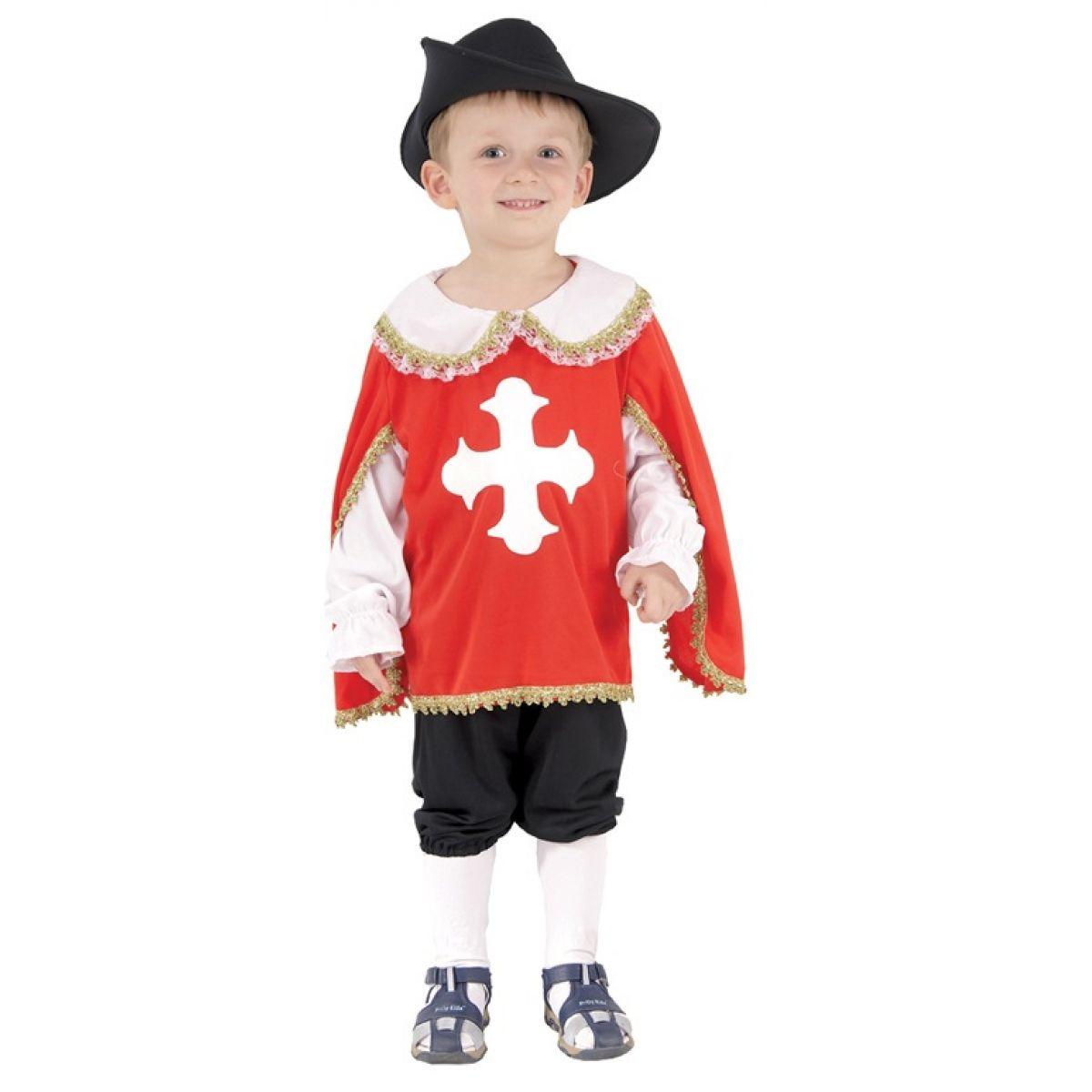 HM Studio Dětský kostým Mušketýr 92 - 104 cm  c56f983a80