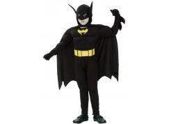 HM Studio Dětský kostým netopýr 130-140 cm - Poškozený obal