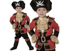 HM Studio Dětský kostým Pirát 92 - 104 cm - Poškozený obal