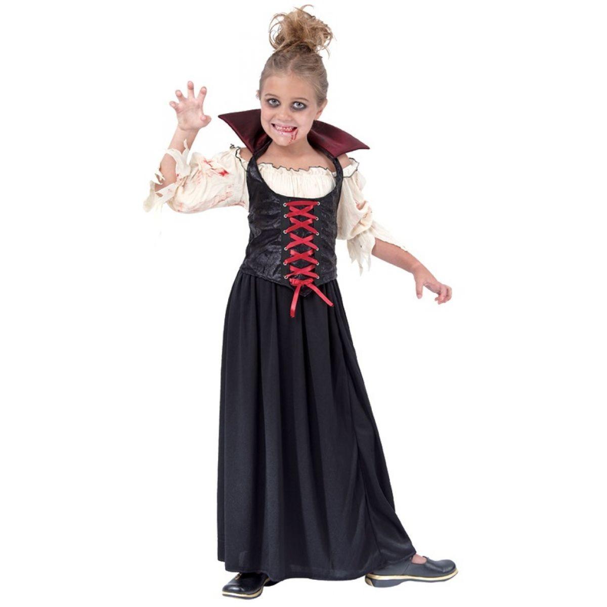 HM Studio Dětský kostým Vampírka 130 - 140 cm