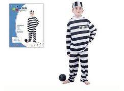 Hm Studio Dětský kostým vězeň M