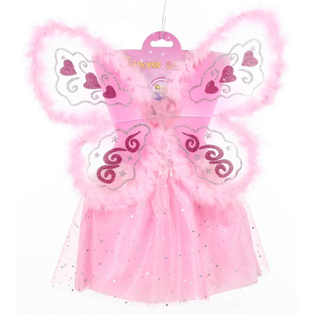 HM Studio Dětský kostým Víla s chmýřím - Poškozený obal