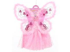 HM Studio Dětský kostým Víla s chmýřím