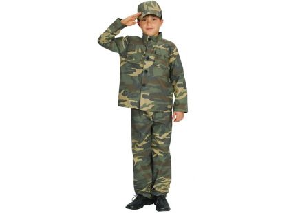HM Studio Dětský kostým Voják 130 - 140 cm