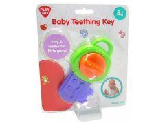 HM Studio Dětský kousací klíč Zeleno - fialový