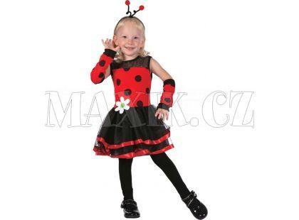 HM Studio Dětský kostým Beruška 92 - 104 cm