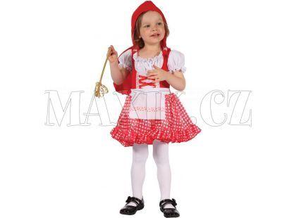 HM Studio Dětský kostým Červená Karkulka 92 - 104 cm