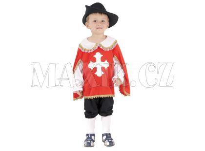 HM Studio Dětský kostým Mušketýr 92 - 104 cm