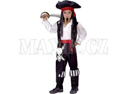HM Studio Dětský kostým Pirát 110 - 120 cm
