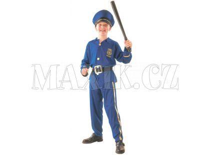 HM Studio Dětský kostým Policista 130 - 140 cm