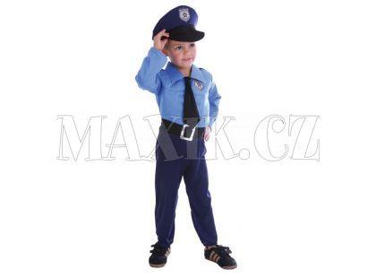 HM Studio Dětský kostým Policista 92-104cm