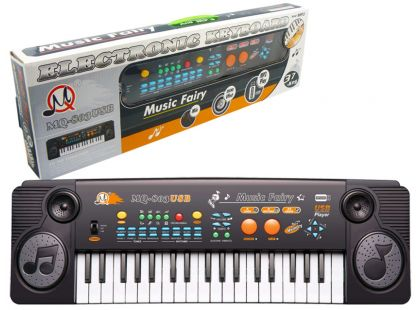 Hm Studio Elektronické klávesy 37 kláves s adaptérem