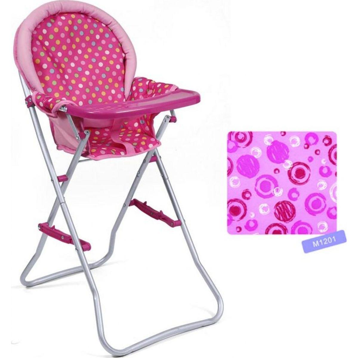 Hm Studio Jídelní židlička růžová