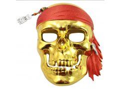 HM Studio Karnevalová maska pirátská lebka (130 - 140 cm)