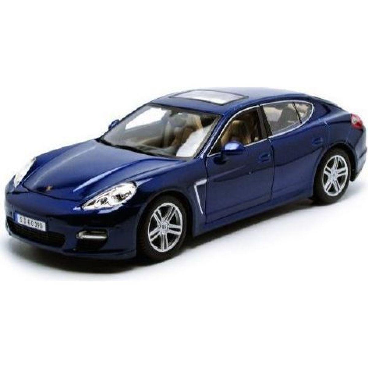 HM Studio kovový model Porsche Panamera S 1:24 Modré