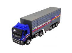 HM Studio kovový model Volvo tahač - kontejner 1:50