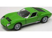 HM Studio Lamborghini Miura P400 SV 1971 zelené