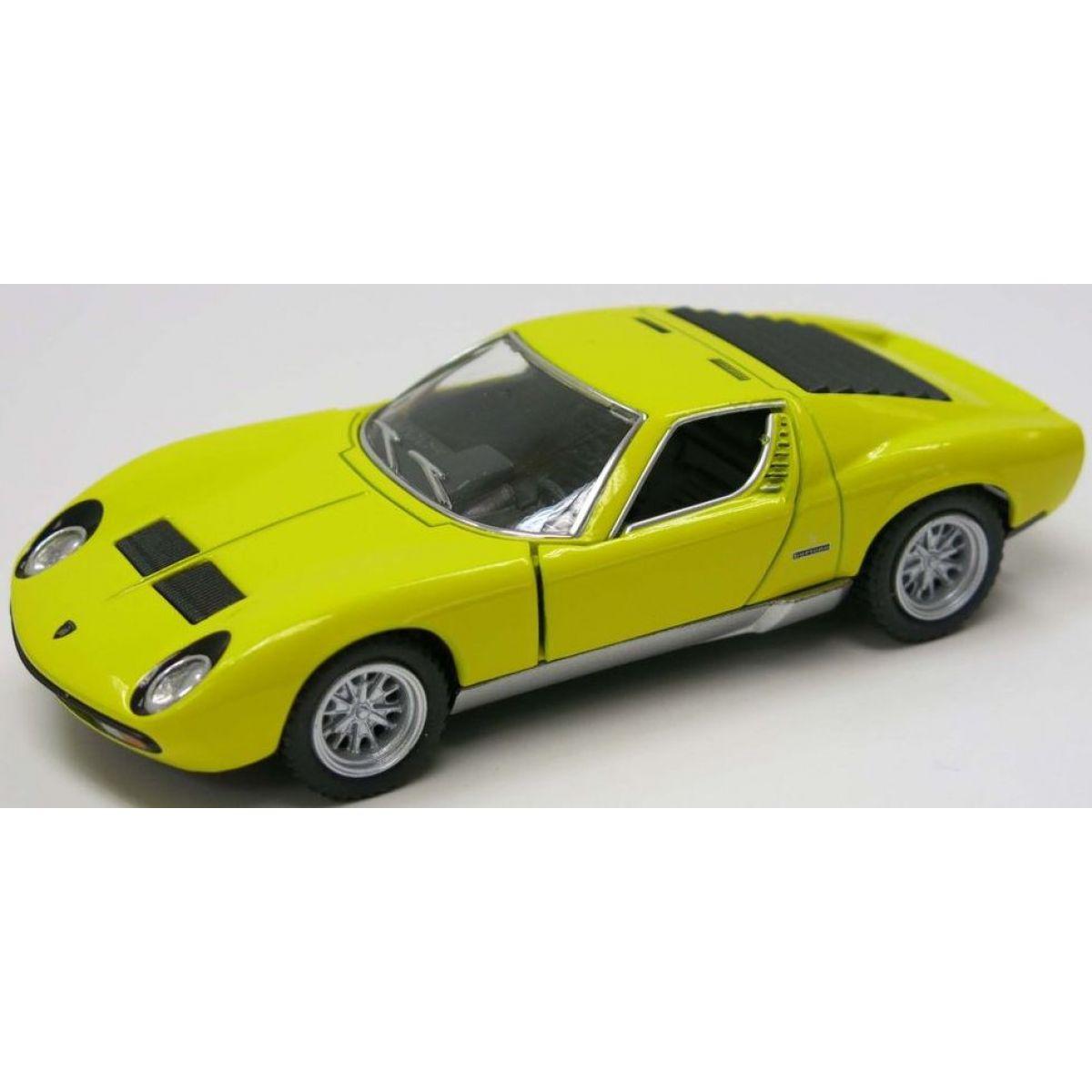 HM Studio Lamborghini Miura P400 SV 1971 žluté