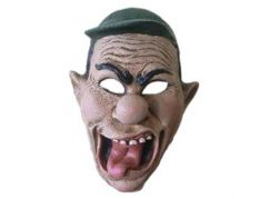HM Studio Maska gumová s kšiltovkou