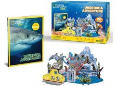 HM Studio National Geografic Puzzle 3D Podmořské dobrodružství 63 dílků
