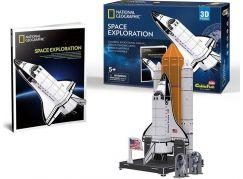 HM Studio National Geographic Puzzle 3D Vesmírný průzkum - 65 dílků