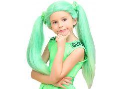 HM Studio Paruka Lollipopz zelená – Ela