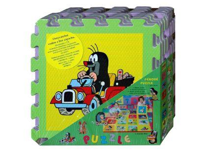Hm Studio Pěnové puzzle Krtek 8ks 30x30cm