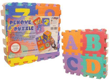 Hm Studio Pěnové puzzle Písmena a Čísla 36ks