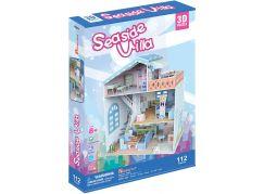 HM Studio Puzzle 3D Dollhouse Seaside Villa 112 dílků