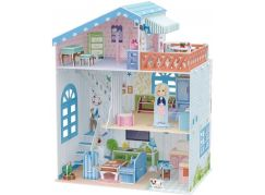 HM Studio Puzzle 3D Dollhouse Seaside Villa 112 dílků
