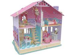 HM Studio Puzzle 3D Dům pro panenky Carries Home