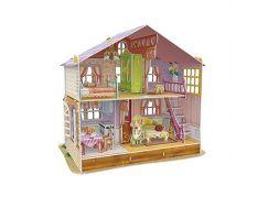 HM Studio Puzzle 3D Dům pro panenky Saras Home