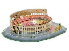 HM Studio Puzzle 3D The Colosseum LED 185 dílků