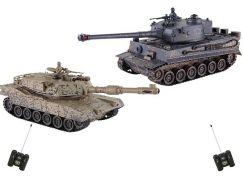 HM Studio RC Tank M1A2 vs. Tiger