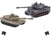 HM Studio RC Tank M1A2 vs. Tiger