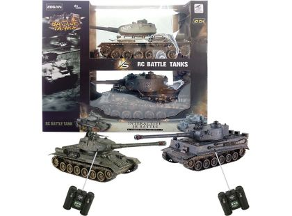 HM Studio RC Tank T34 vs. Tiger 1:28