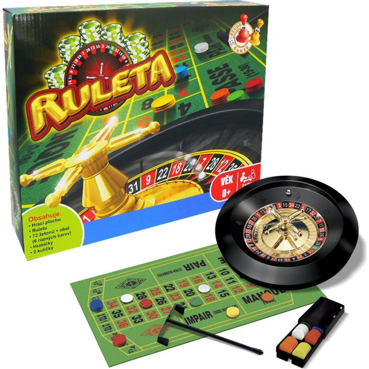 HM Studio Ruleta set