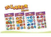 HM Studio Samolepky 3D Laser vodní svět