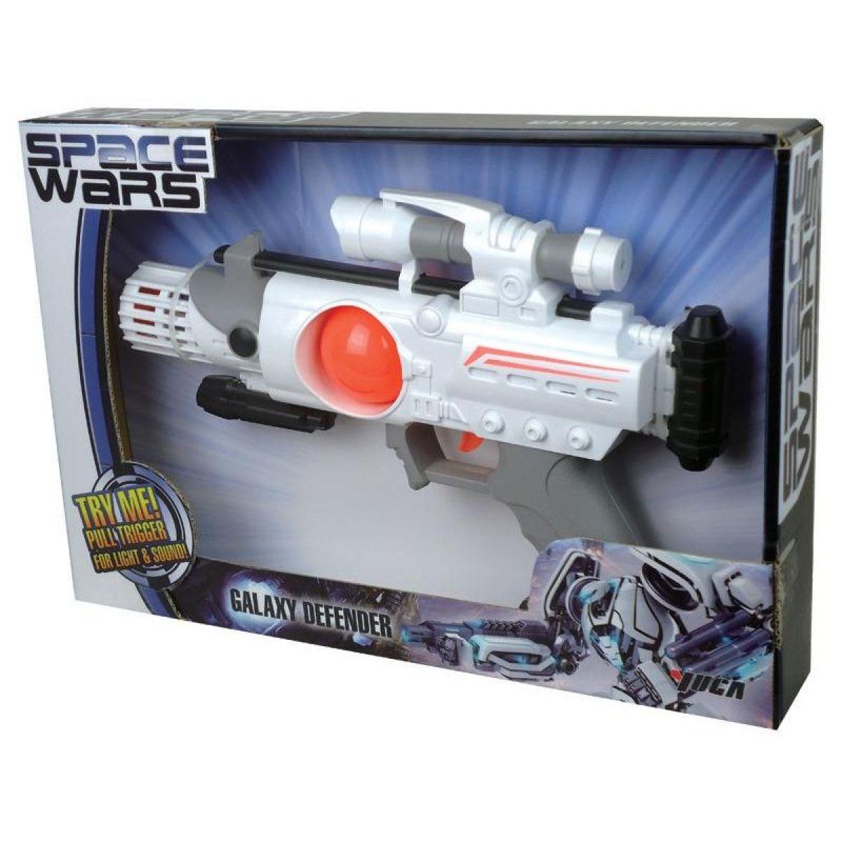 HM Studio Space Wars zbraň se zvuky a světly