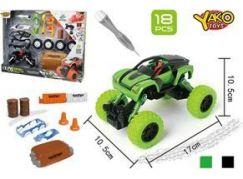 Hm Studio Stavebnice Auto 4WD 18 dílků 1:32