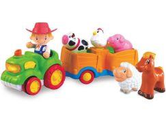HM Studio Traktor zvířecí farma Stiskni a jeď