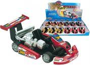 HM Studio Turbo Go Kart černá motokára