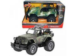 HM Studio Vojenský jeep 1:16 se setrvačníkem