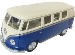 HM Studio VW Classical Bus Ivory Top 1962 modrý