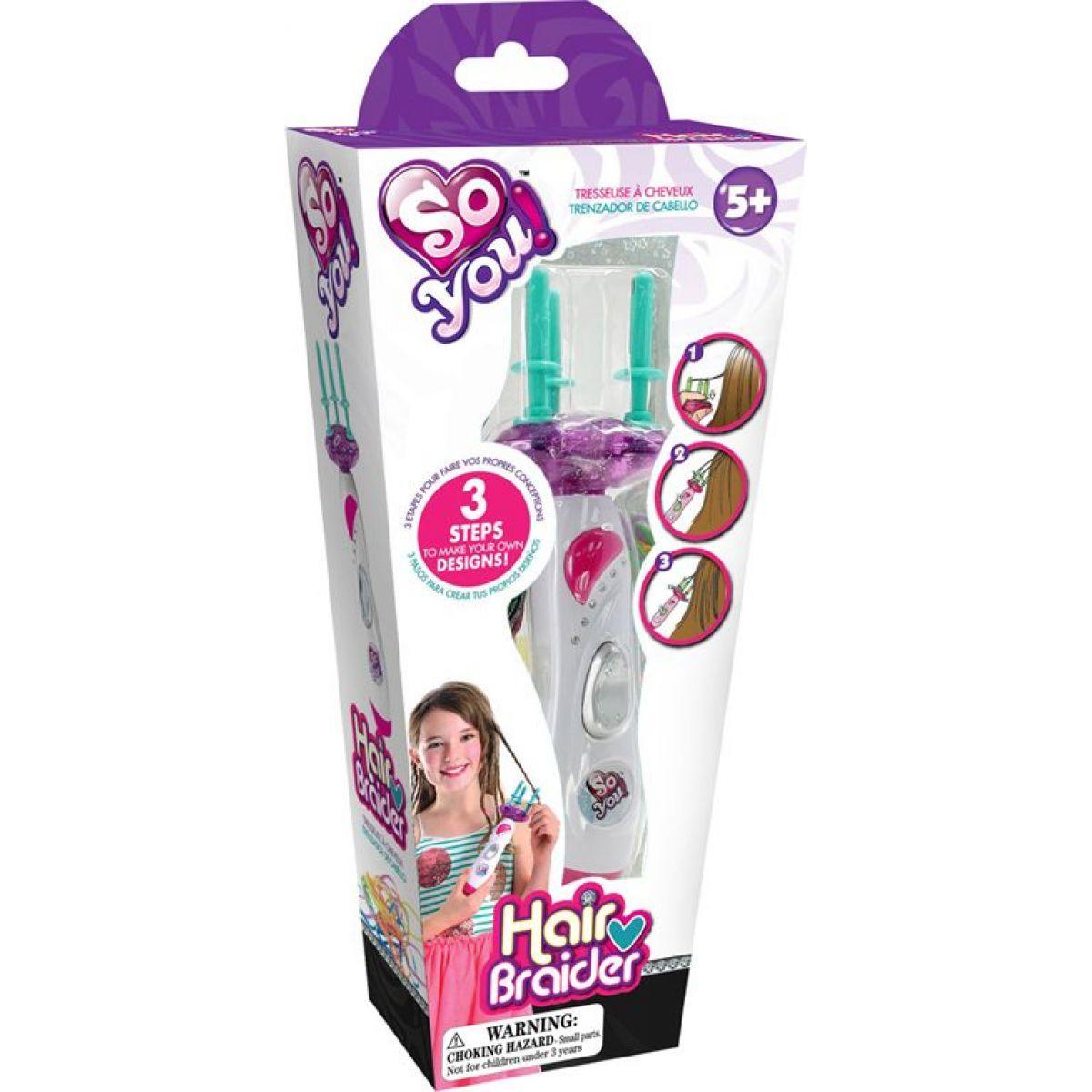 Hm Studio Zaplétač vlasů s gumičkami