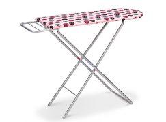 HM Studio Žehlící prkno růžové s kolečky