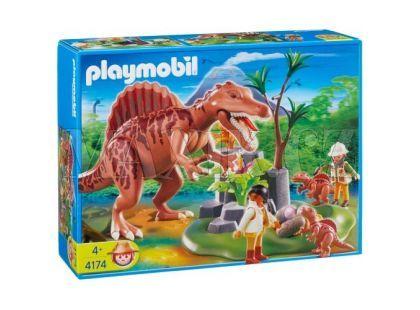 Hnízdo Spinosaura Playmobil 4174
