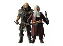 HOBBIT Sběratelské figurky Trpaslíci Balin a Dwalin