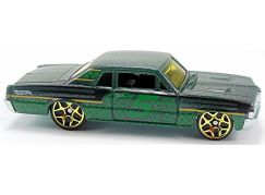 Hot Wheels Angličák Color Shifters 64 Pontiac GTO