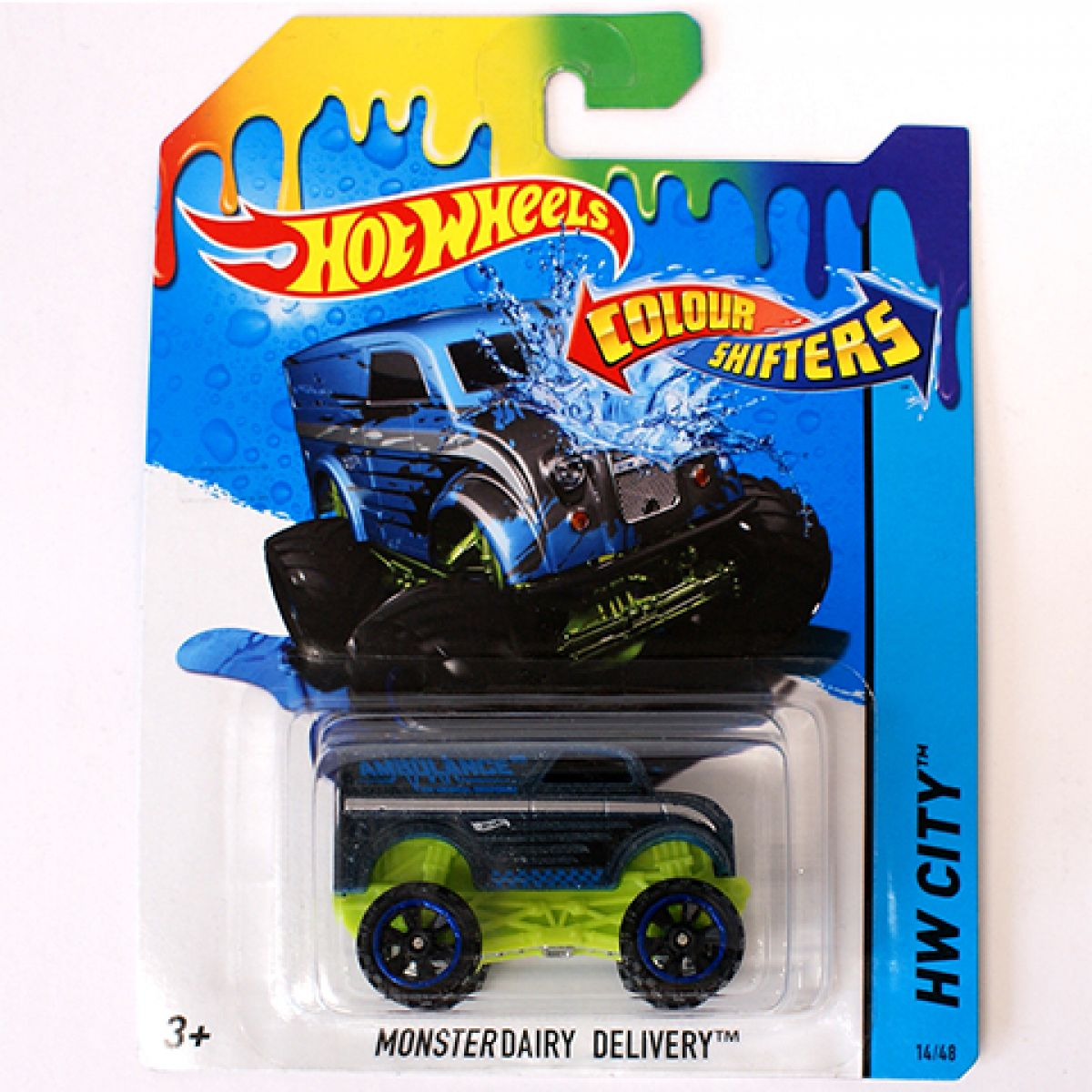 Hot Wheels Angličák Color Shifters Dairy Delivery
